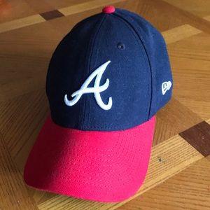 Atlanta Braves Youth New Era MLB baseball cap